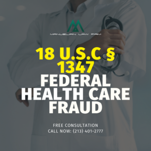 Federal health care fraud